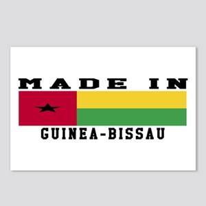 Guinea-Bissau Made In Postcards (Package of 8)
