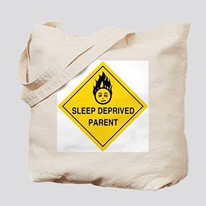 Sleep Deprived Parent Tote Bag