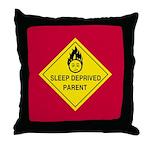 Sleep Deprived Parent Throw Pillow