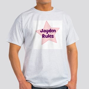 Jayden Rules Ash Grey T-Shirt