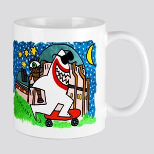 Sharks in the City: Griffith Observatory Mug