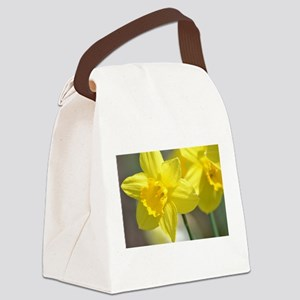 Yellow Daffodils Canvas Lunch Bag