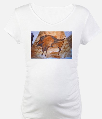 Alta Mira Bison Cave Painting Shirt