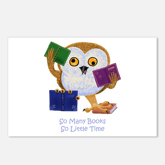 So Many Books So Little Time Postcards (Package of