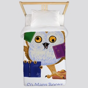 So Many Books So Little Time Twin Duvet