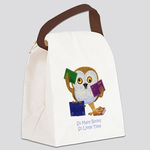 So Many Books So Little Time Canvas Lunch Bag