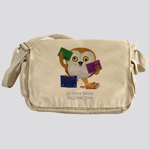 So Many Books So Little Time Messenger Bag