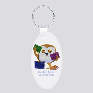 So Many Books So Little Time Keychains