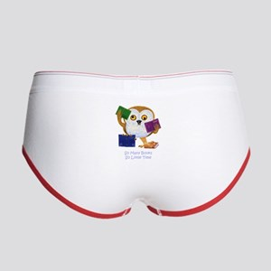 So Many Books So Little Time Women's Boy Brief