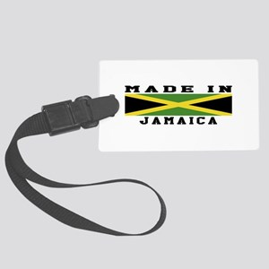Jamaica Made In Large Luggage Tag