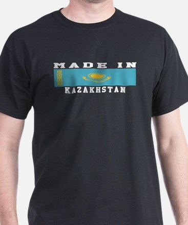 Kazakhstan Made In T-Shirt