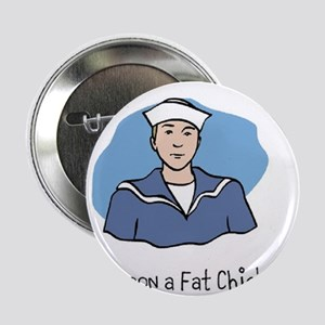 "Save the Whales Harpoon a Fat Chick 2.25"" Button"