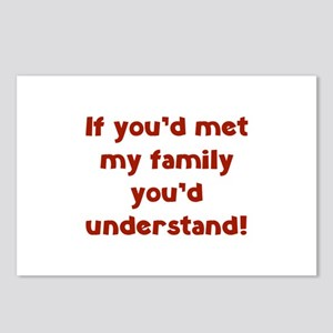 You'd Understand Postcards (Package of 8)