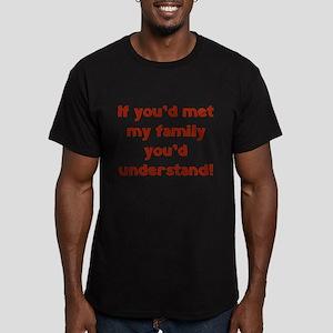 You'd Understand Men's Fitted T-Shirt (dark)