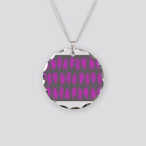 Fern - Pink Grey Necklace