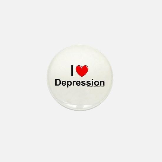 Depression Mini Button