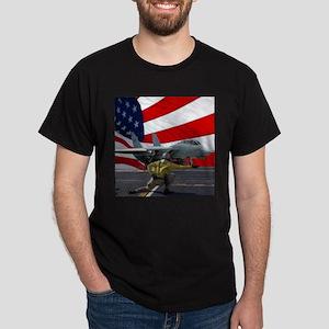 Last Tomcat  flag on BLK T-Shirt