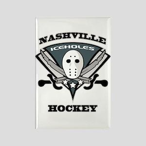 Nashville Iceholes Rectangle Magnet