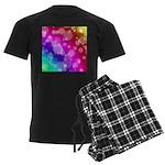 Rainbow Bokeh Pattern Pajamas