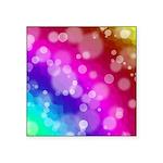 Rainbow Bokeh Pattern Sticker