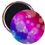 Rainbow Bokeh Pattern Magnet