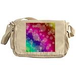Rainbow Bokeh Pattern Messenger Bag