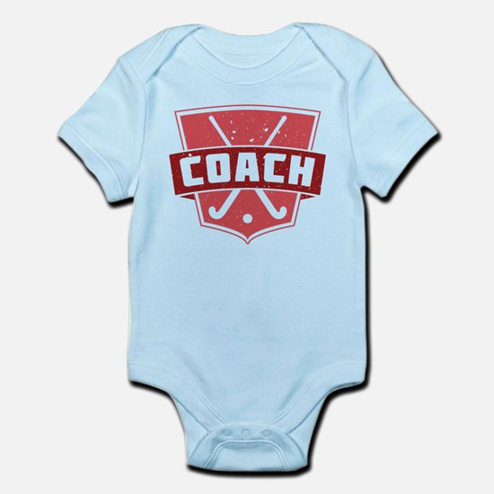 Field Hockey Coach (red) Body Suit