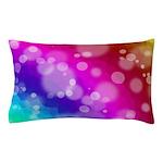 Rainbow Bokeh Pattern Pillow Case
