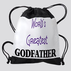 godfather Drawstring Bag