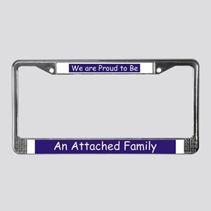 Attachment Parenting License Plate Frame