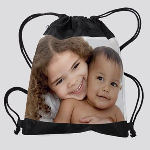 Brother and sister Drawstring Bag