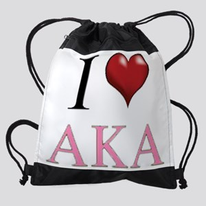 3-I Love AKA Drawstring Bag