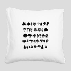 treesmisc Square Canvas Pillow