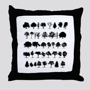 treesmisc Throw Pillow