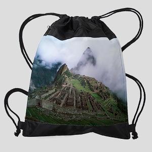 Machu Picchu Drawstring Bag