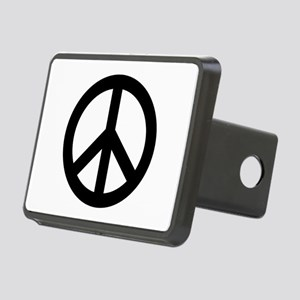 Black Peace Sign Hitch Cover