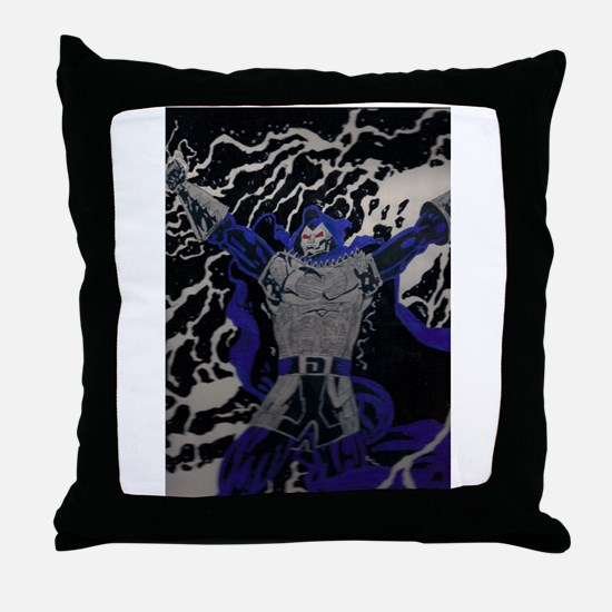 day of reckoning Throw Pillow