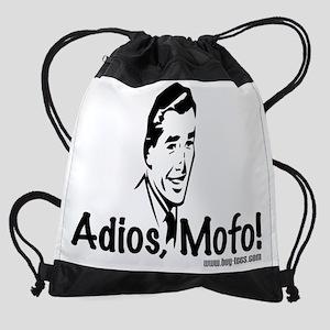 Adios Mofo Drawstring Bag