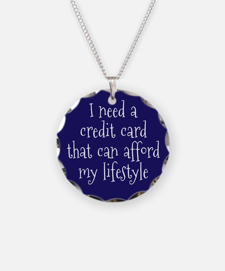 Affordable Credit Card Necklace