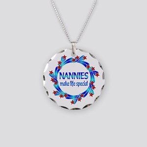 Nannies are Special Necklace Circle Charm