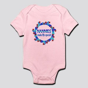 Nannies are Special Infant Bodysuit