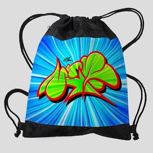 Mr.W.two23x18 calender.png Drawstring Bag