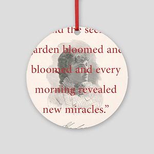 And The Secret Garden Bloomed - FH Burnett Round O