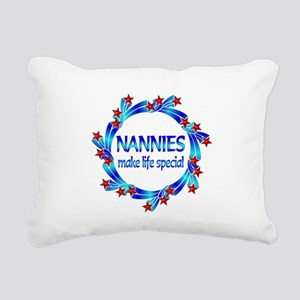 Nannies are Special Rectangular Canvas Pillow