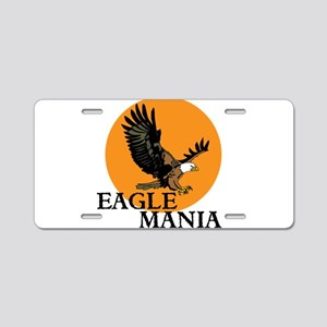 Eagle Mania Aluminum License Plate