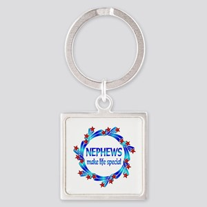 Nephews are Special Square Keychain