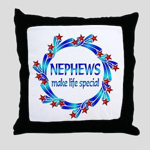 Nephews are Special Throw Pillow