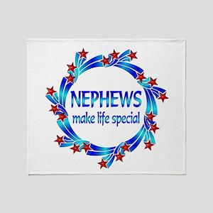 Nephews are Special Throw Blanket