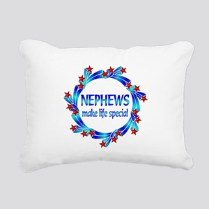 Nephews are Special Rectangular Canvas Pillow
