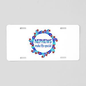 Nephews are Special Aluminum License Plate